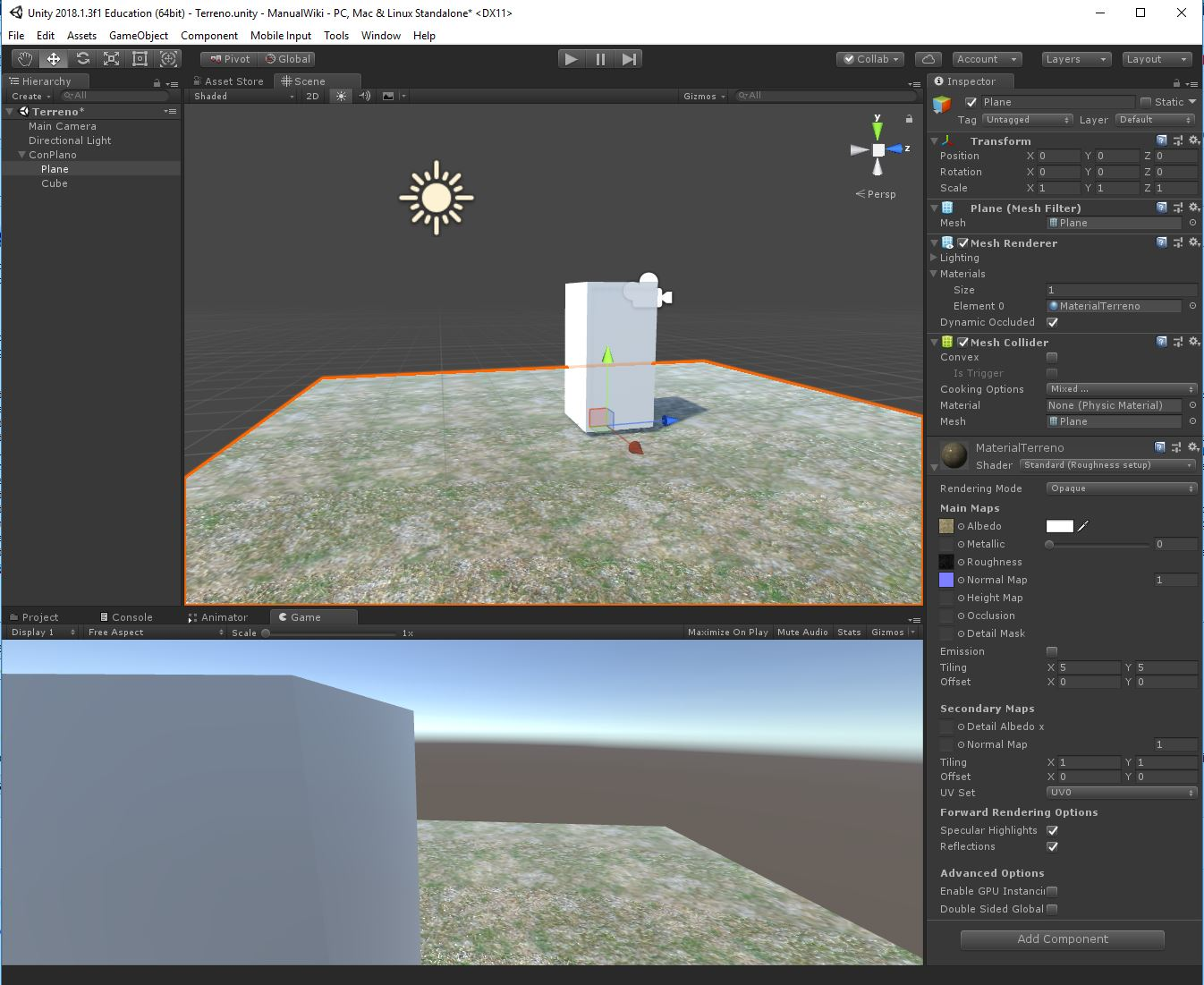 Archivo:Unity3d terreno 7 jpg - MediaWiki