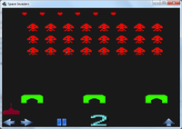 2012-2013 2D Roberto Calvo Tome Space Invaders.png