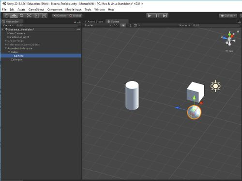 Unity3d gameobject jerarquia 1.JPG